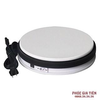 Bàn xoay điện 360 độ - đường kính 25cm