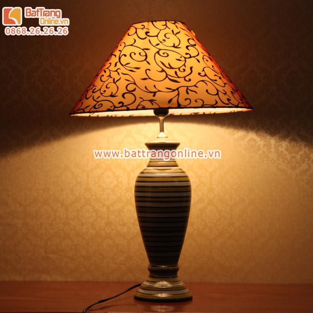 Đèn ngủ cao cấp Bát Tràng - A5