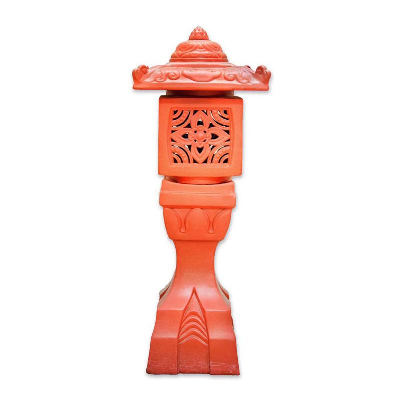 Đèn Đứng Vuông - Đỏ gốm - TYC 732