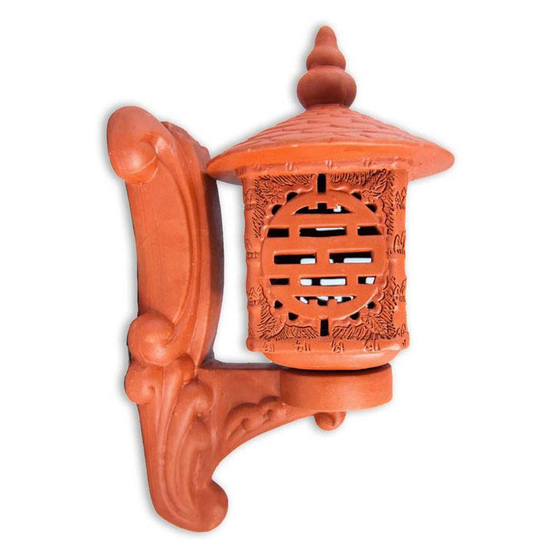 Đèn Treo Vuông Thọ - Đỏ gốm - TYC 754