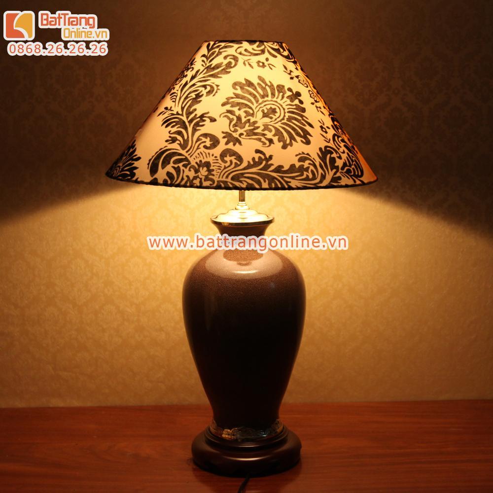 Đèn ngủ cao cấp Bát Tràng- A6