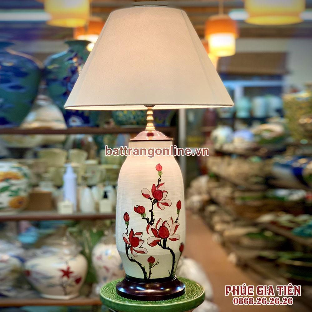 Đèn ngủ hương ngọc lan, cao 60cm
