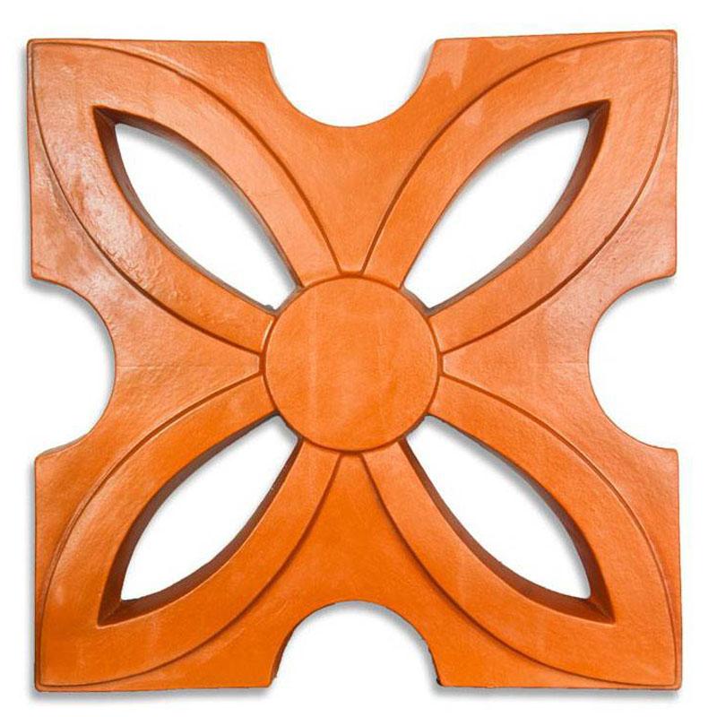 Gạch Hoa Thị - Đỏ gốm - TYC 310