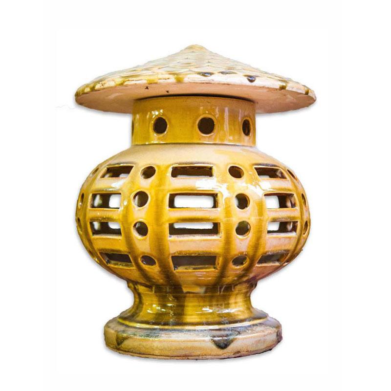 Đèn Đứng Chích - Vàng kết tinh - THC 702