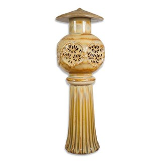 Đèn Đứng Hoa - Vàng kết tinh - THC 701