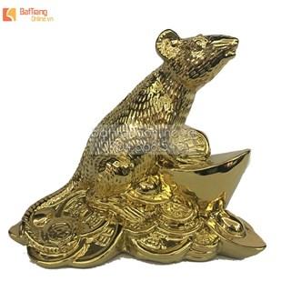 Bộ tượng 12 con giáp - mạ vàng 24k - cao 22 cm