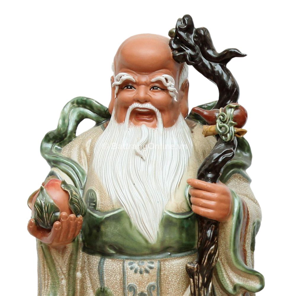 Tượng Tam Đa Tứ Linh Hội Tụ - Cao 85cm, rộng 35cm