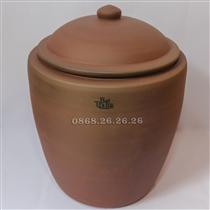 Hữ đựng gạo - không men - 12kg
