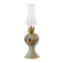 Đèn dầu thờ trường thọ - cao 27 cm
