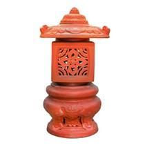 Đèn Hoa Cao - Đỏ gốm - TYC 734