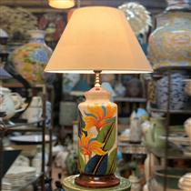 đèn ngủ vẽ hoa thiên điểu cao 60cm