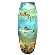 Đèn gốm BATO trang trí vẽ ánh sáng dưới đáy đại dương - cao 62cm