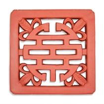 Gạch Chữ Thọ - Đỏ gốm - TYC 302- 40