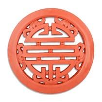 Gạch Tròn Chữ Thọ - Đỏ gốm - TYC 306- 80