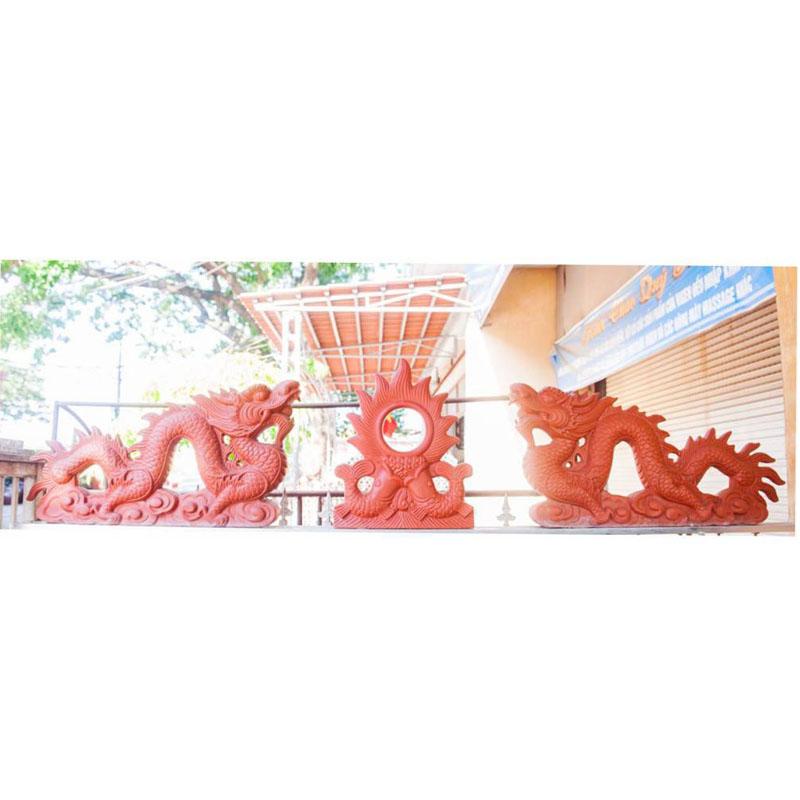 Rồng Gốm 0.8m - Đỏ gốm - TYC 601