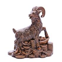 Dê sứ Tài Lộc - men da lươn - cao 28 cm - dài 25 cm